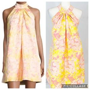 Badgley Mischka Nola Moselle Halter Dress 2 NWT